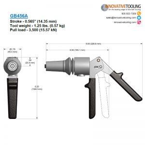 Gage Bilt GB456A Specs