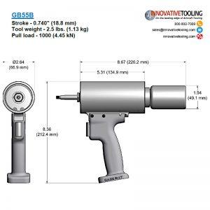 Gage Bilt GB55B Specs