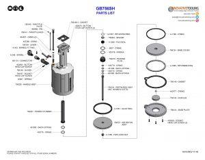 Gage Bilt GB756SH Parts List (2/2)