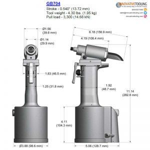 Gage Bilt GB704 Specs